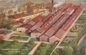 BULMER'S CIDER WORKS AT HEREFORD