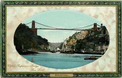 CLIFTON SUSPENSION BRIDGE, LOW LEVEL