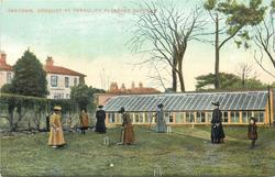 CROQUET AT FERNCLIFF PLEASURE GARDENS