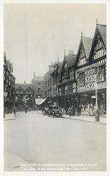 HIGH STREET, SHREWSBURY, R. MADDOX & CO. LTD., AND IRELAND'S MANSIONS (16TH CENTURY)