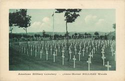 (AISNE-MARNE) BELLEAU WOODS crosses face left, no hill back