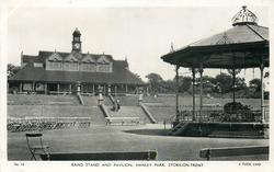 BAND STAND AND PAVILION, HANLEY PARK
