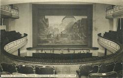 INTERIOR OF MEMORIAL THEATRE. DESTROYED BY FIRE MARCH 6TH. 1926