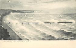 ROUGH SEA OFF VENTNOR