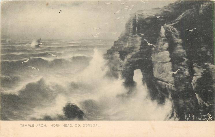 TEMPLE ARCH, HORN HEAD, CO. DONEGAL