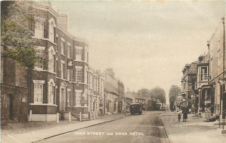 HIGH STREET AND SWAN HOTEL