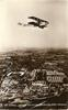 AN IMPERIAL AIRWAYS PASSENGER AEROPLANE OVER WEMBLEY