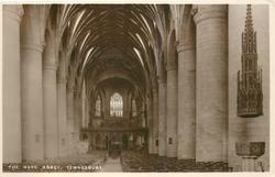 THE NAVE, ABBEY