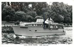"CANAL MOTOR CRUISER, ""MAID MARY-SUE"""