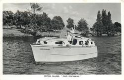 "MOTOR CRUISER, ""MAID MOONBEAM"""