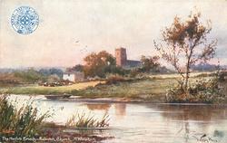 THE NORFOLK BROADS- BELAUGH CHURCH, NR. WROXHAM