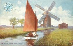 THE STAITHE, HORSEY MERE. NORFOLK BROADS,
