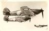 HAWKER HURRICANE, DAY AND NIGHT FIGHTER USED EXTENSIVELY BY THE R.A.F.//CAMOURFLAGE FINISHED