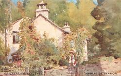 AMBLESIDE STATION  GRASMERE, DOVE COTTAGE