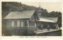 FURNESS ABBEY STATION, DOWN PLATFORM