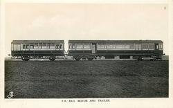 F.R. RAIL MOTOR AND TRAILER