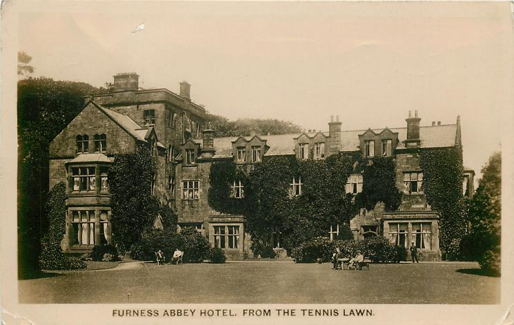 FROM THE TENNIS LAWN