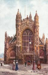 WEST FRONT, BATH ABBEY