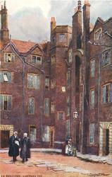 OLD BUILDINGS, LINCOLN'S INN