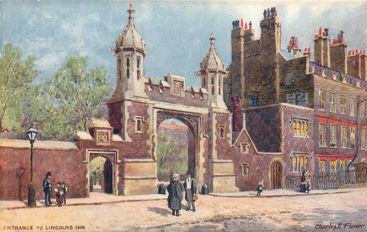 ENTRANCE TO LINCOLNS INN