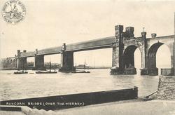 RUNCORN BRIDGE(OVER THE MERSEY)