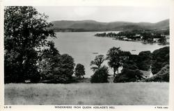 WINDERMERE FROM QUEEN ADELAIDE'S HILL