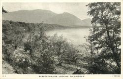 BASSENTHWAITE LOOKING TO SKIDDAW