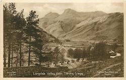 LANGDALE VALLEY FROM THRANG CRAGG