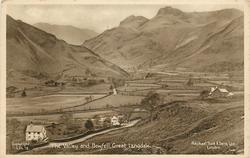 THE VALLEY AND BOWFELL, GREAT LANGDALE