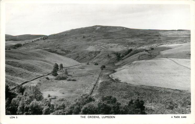 THE ORDENS  hill in full frame