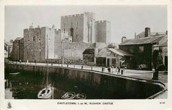 CASTLETOWN, I. OF M., RUSHEN CASTLE