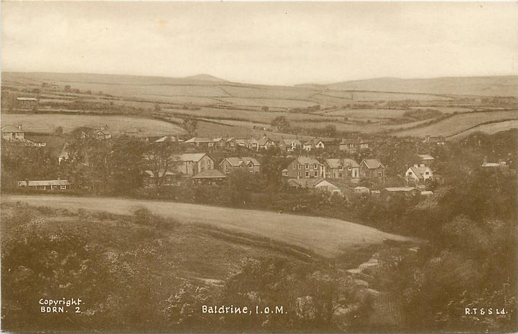 BALDRINE, I.O.M. field front