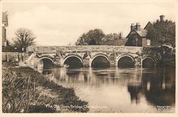 THE OLD TOWN BRIDGE