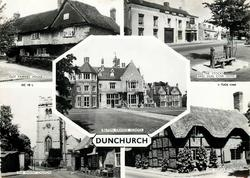 5 insets GUY FAWKES HOUSE/THE STOCKS AND DUN COW HOTEL/BILTON GRANGE SCHOOL/THEPARISH CHURCH/THE FORGE