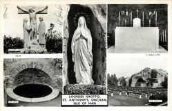 5 insets CALVARY GROUP/THE ALTAR/LOURDES GROTTO/THE WELL/THE GROTTO