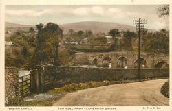 TOR VOEL FROM LLANGYNIDR BRIDGE