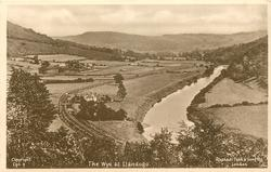 THE WYE AT LLANDOGO  more distant view