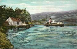 ON THE CALEDONIAN CANAL