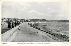 PROMENADE AND SLEEPING LADY, WEST SHORE