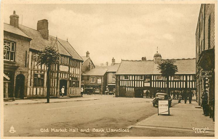 OLD MARKET HALL AND BANK