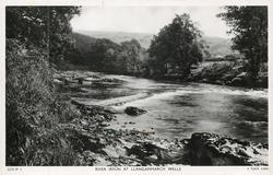 RIVER IRFON AT LLANGAMMARCH WELLS
