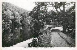 LAKE IN HOTEL GROUNDS
