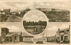 5 insets LONG MARTON/THE FELLS/THE RECTORY/CHURCH EXTERIOR/LONG MARTON