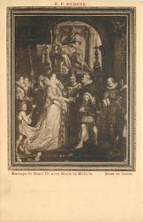 MARIAGE DE HENRI IV AVEC MARIE DE MEDICIS