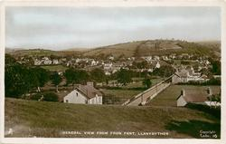 GENERAL VIEW FROM FRON PANT