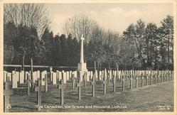 THE CANADIAN WAR GRAVES AND MEMORIAL
