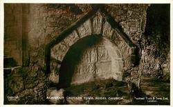 ALAISTAIR CROTACH TOMB, RODEL CHURCH