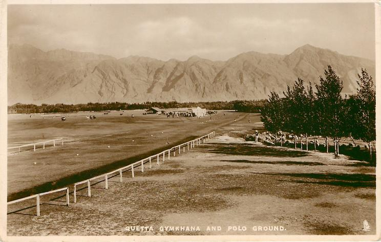 QUETTA GYMKHANA AND POLO GROUND