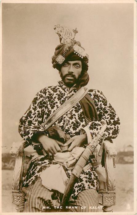H.H. THE KHAN OF KALAT
