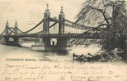 SUSPENSION BRIDGE, CHELSEA